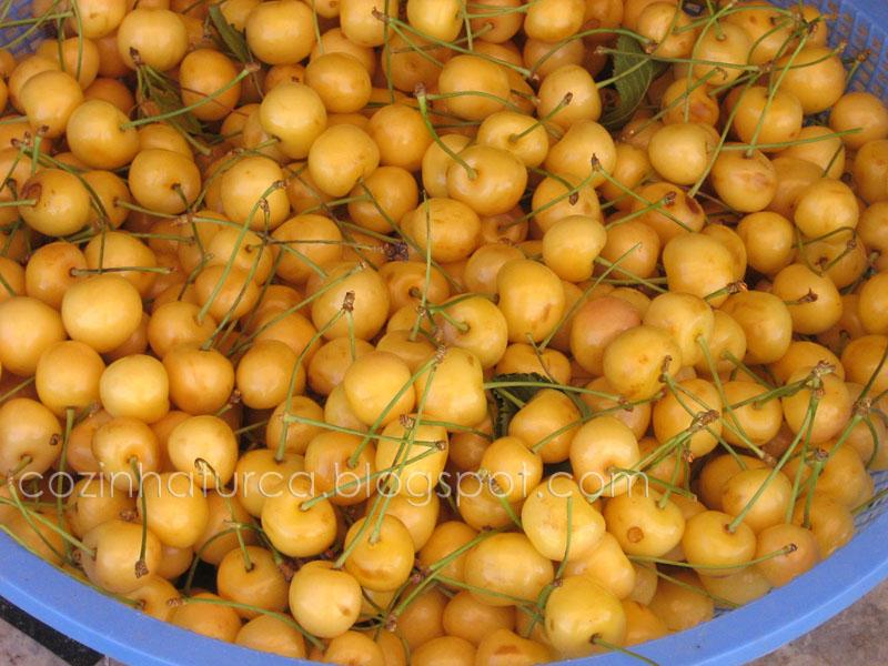 Cerejas Amarelas (Sarı Kiraz)