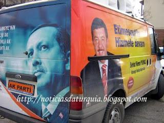 Imagens da campanha