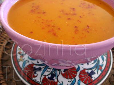 Sopa de Legumes (Sebze Çorbası)
