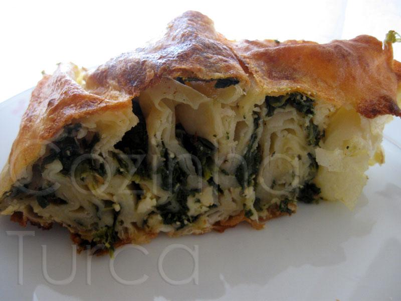 Borek de Espinafres (Ispanaklı Börek)