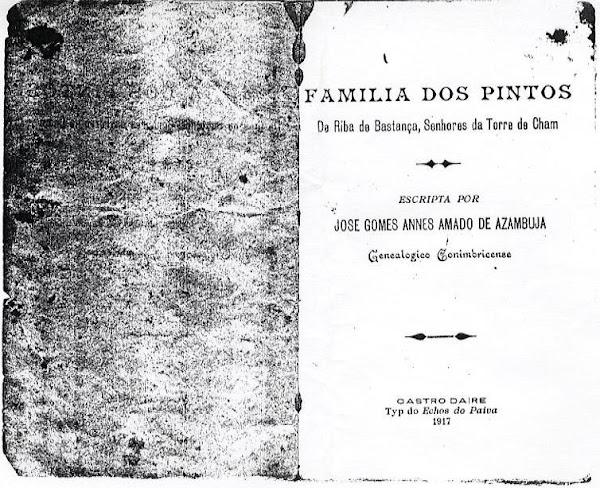 Obra genealogica sobre os Pinto da Torre de Chã