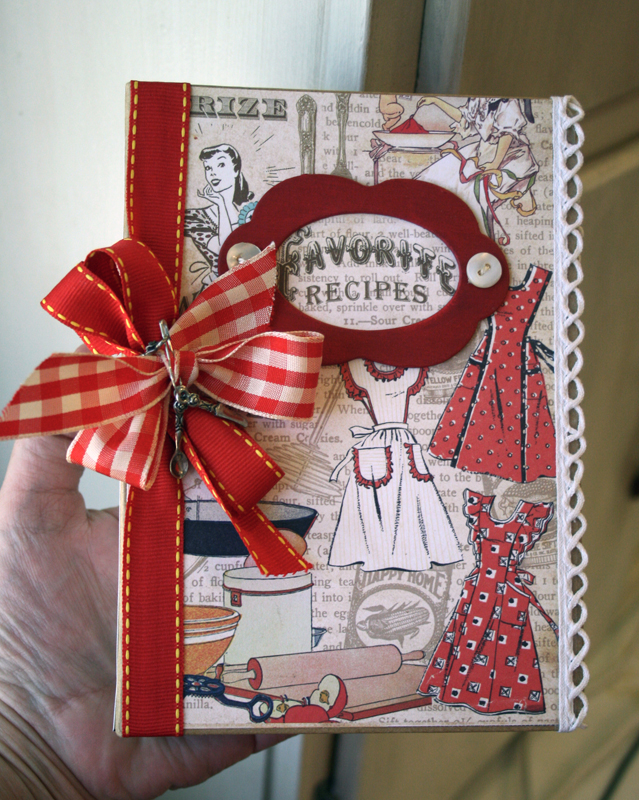 this art that makes me happy  vintage recipe book