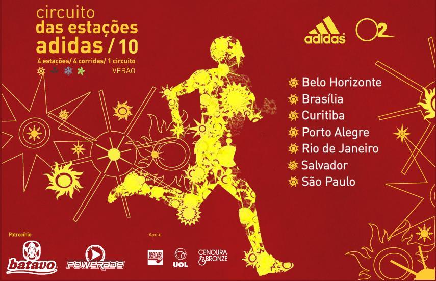 Circuito Verao : Fisio runners circuito das estações adidas etapa verão