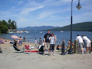 south beach Lake George