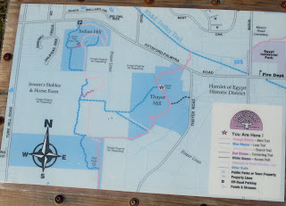 map of Crescent Trail, Town of Perinton NY