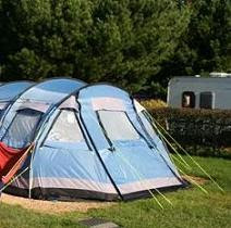 camping tent image courtesy of New Forest UK