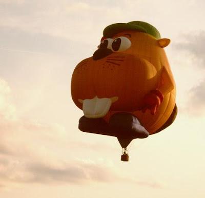 Dansville Balloon Fest buck-toothed balloon