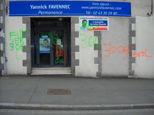Yannick favennec actualite yannick favennec porte plainte for Porte yannick