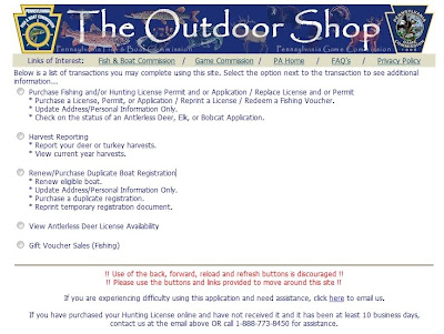 Troutrageous fly fishing tenkara blog for Where do you get a fishing license