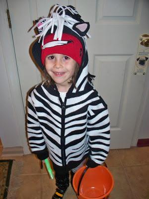 Lilly the Zebra