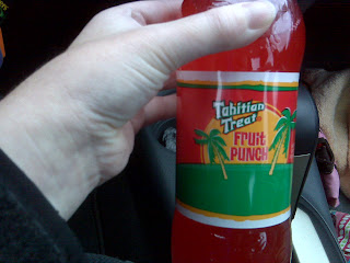 Tahitian Treat Fruit Punch Soda