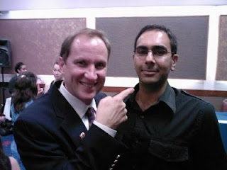 Paul Scheele meets Bobby Gill - London, Oct 07