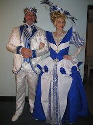 Julia and Jefferson... in Full Cinderella Finery!