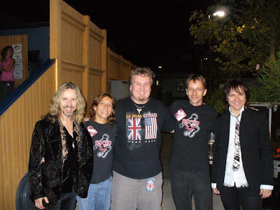 Tommy Shaw (Styx), Germana, Scott Appleton (Rocko and the Devils), Hans, Lawrence Gowan (Styx)