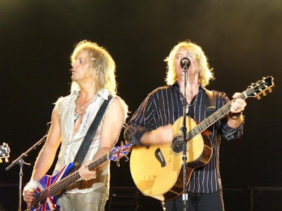Rick 'Sav' Savage and Joe Elliot (Def Leppard)