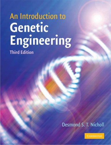 an introduction to genetic engineering Introduction to genetically modified organisms (gmos) a genetically modified  organism (gmo) is an organism or microorganism whose genetic material has.