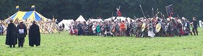 Schlachtformation der Nordmänner