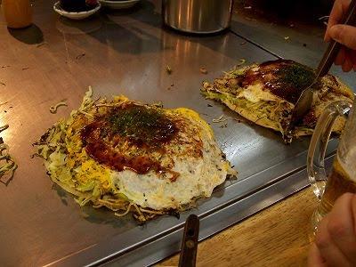 Okonomiyaki aus Hiroshima