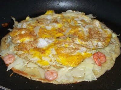 Okonomiyaki Marke Eigenbau - hübsch, nicht? =)