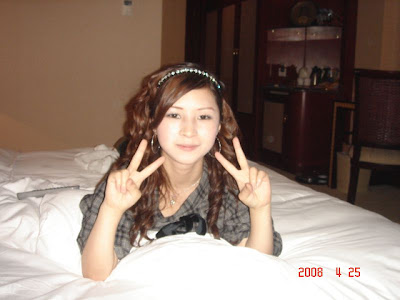 The Victory Sign Also Means Hotel Room Fun