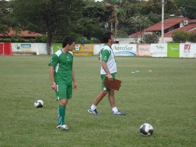 Marcelo Aguirre y Gustavo Quinteros
