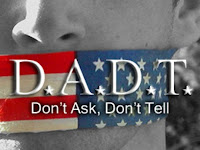 Support LGBT servicemembers. Repeal Don't Ask Don't Tell.