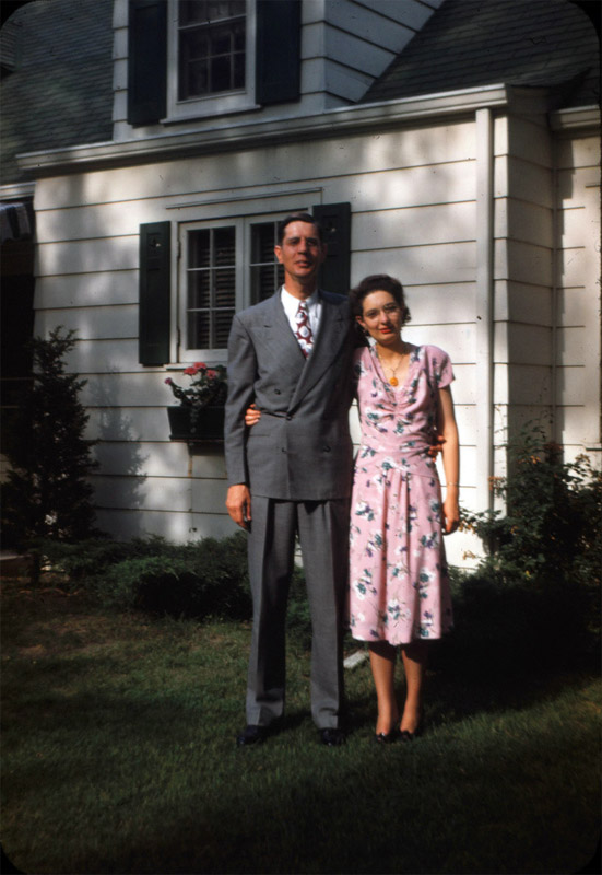 Grandpa and Grandma, 1950