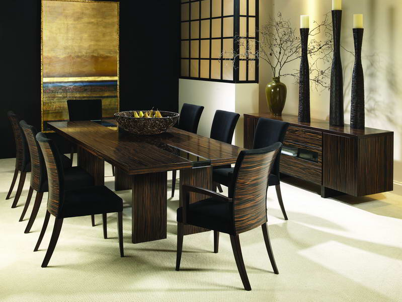 It 39 s all about latest fashion things latest dining table for Modern dining room table