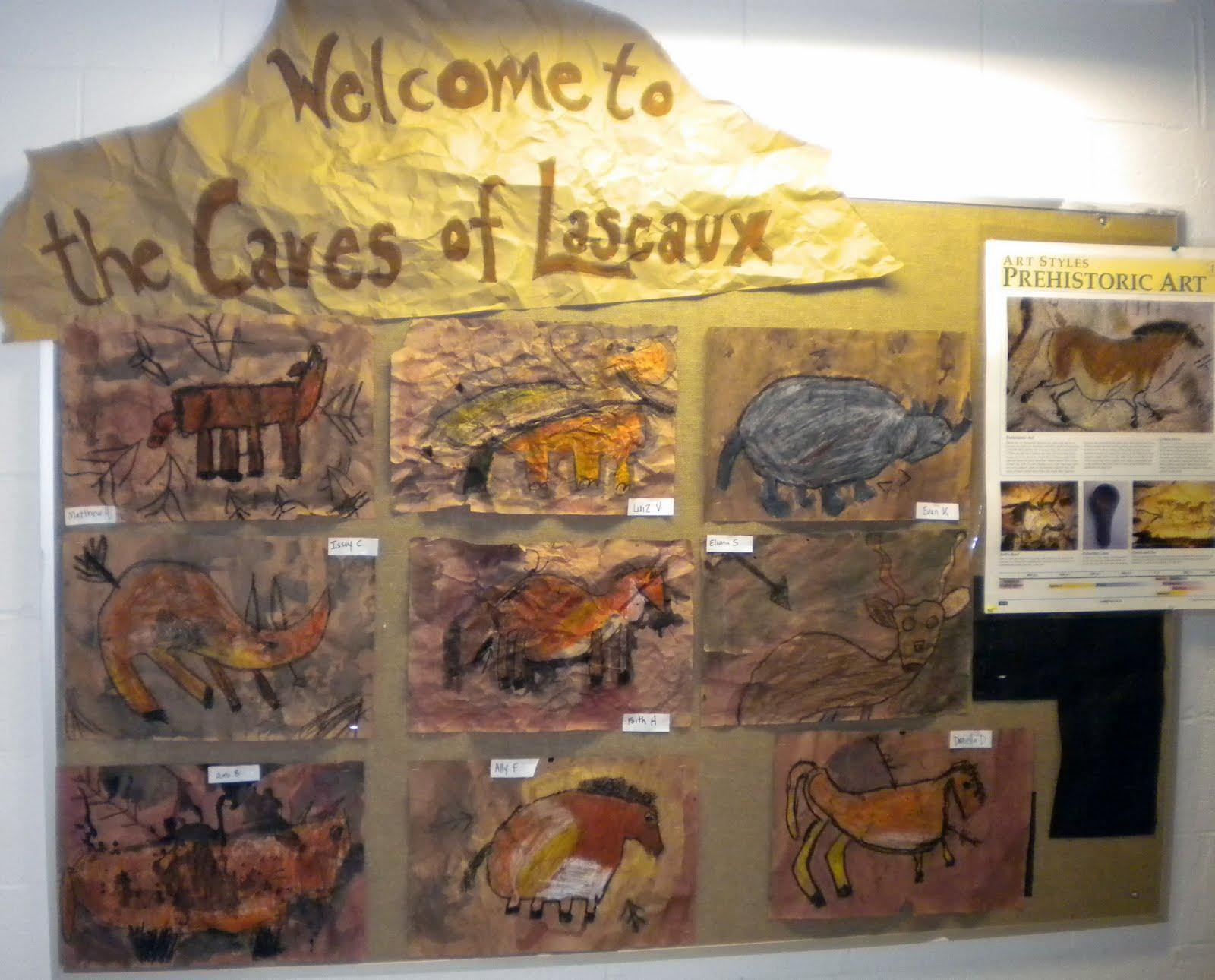Caveman Art Ks2 : Stone age cave paintings ks facts the best