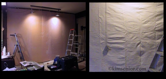 Art Murals Paint Theatrical Muslin Mural Preparation