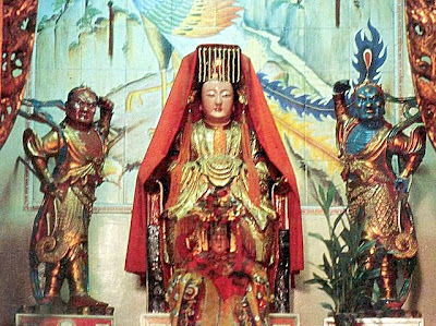 Chao Pho Thepharak Shrine - Chao Mae Thub Thim