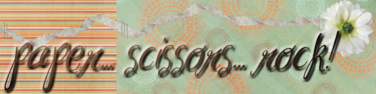 paper... scissors... ROCK!