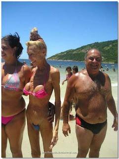 grandma in bikini