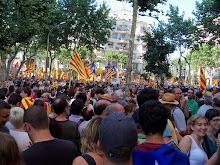 Manifestació del 10 de Juliol a Barcelona
