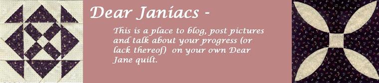 Dear Janiacs