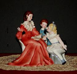 Story Hour Figurine - Florence Ceramics