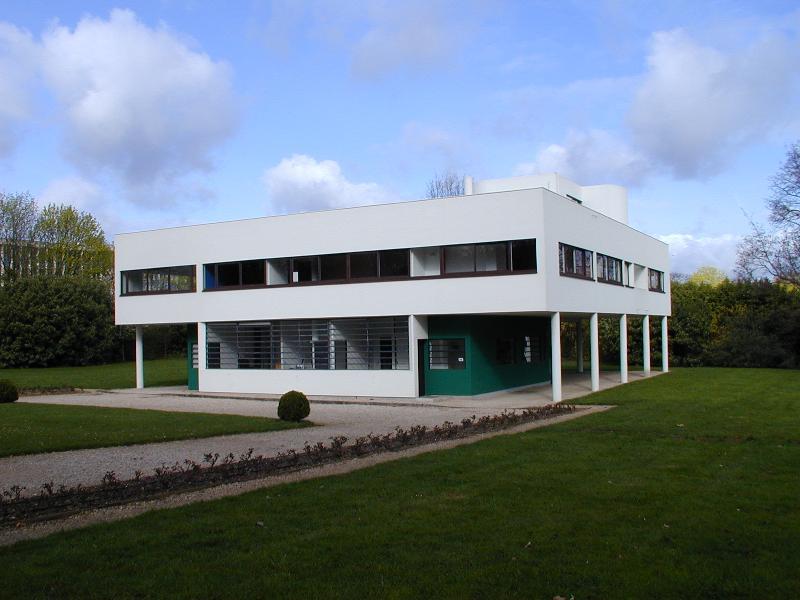 Le Corbusier Villa Savoye~ Terraco Jardim Villa Savoye