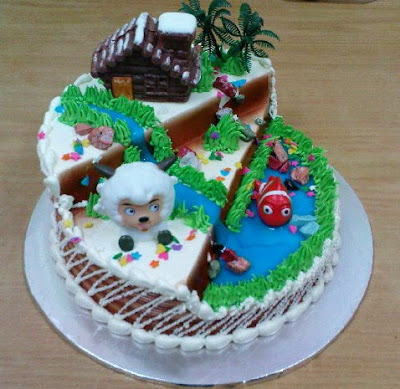 Larva Cartoon Cake Design : Vanilla Pastry: Cartoon Cakes Designs from Vanilla Pastry