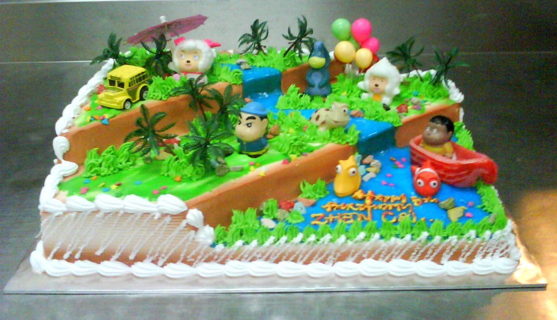 Cake Design In Kl : Vanilla Pastry: Cartoon Cakes Designs from Vanilla Pastry