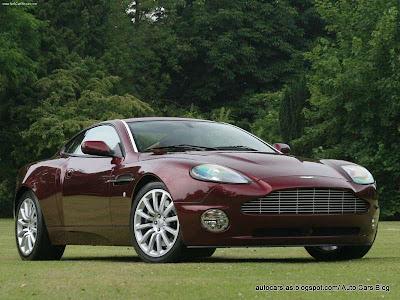 Aston Martin V12 Vanquish. Aston Martin V12 Vanquish