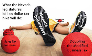 The impact of tax increases on Nevada's economy