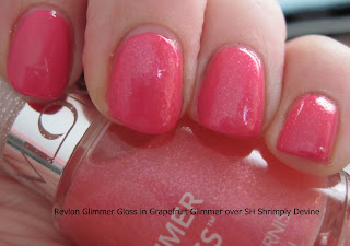 like the subtle, very work-appropriate shimmer this gloss gives the