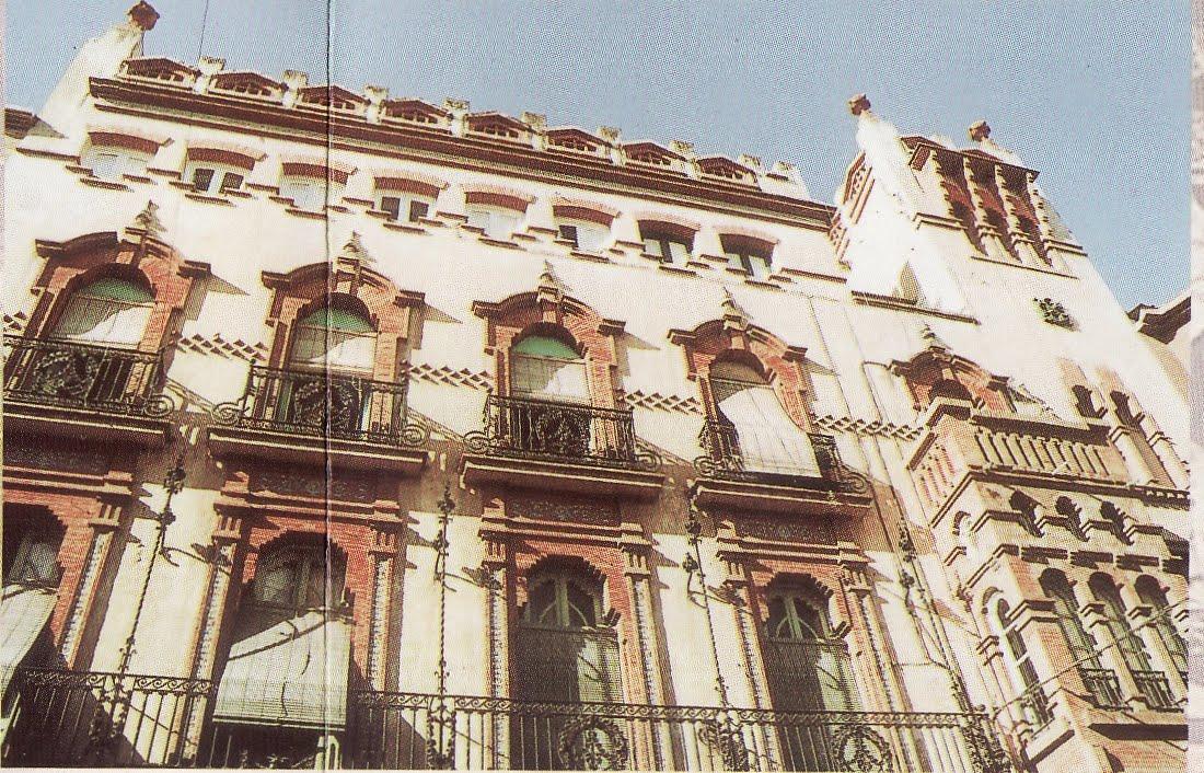 Descubrir linares linares modernista s xix 2 for Azulejeria antigua cordoba