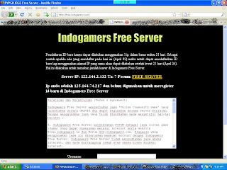 indogamers free server