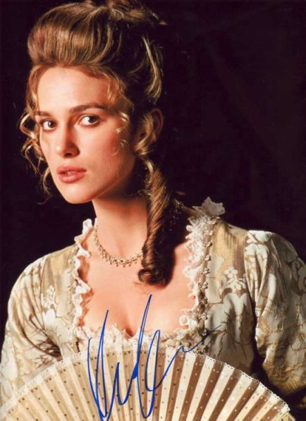 Hair was inspired by keira knightley in pirates of the caribbean