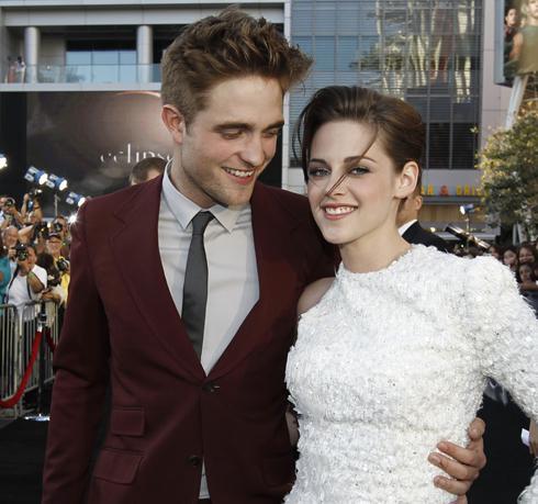 is kristen stewart and robert pattinson married in real life. ROBERT Pattinson and Kristen