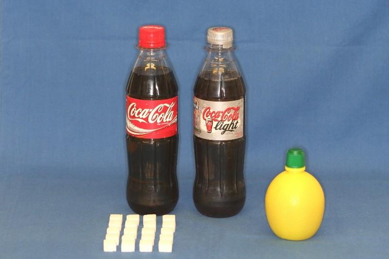 sukker i cola