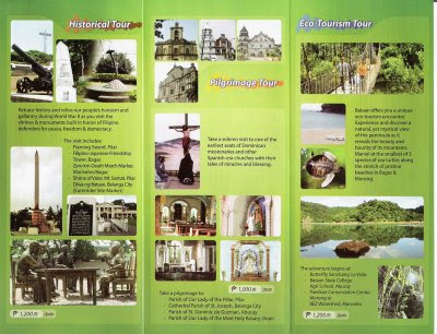Travel Central Philippines: Brochure - Bataan Province