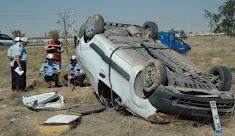 Hastaneden Dönen Aile Kaza Geçirdi: 1 Ölü, 5 Yaralı