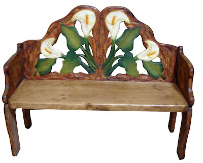 Ethnic Indian Decor Mexican Hand Panited Furniture